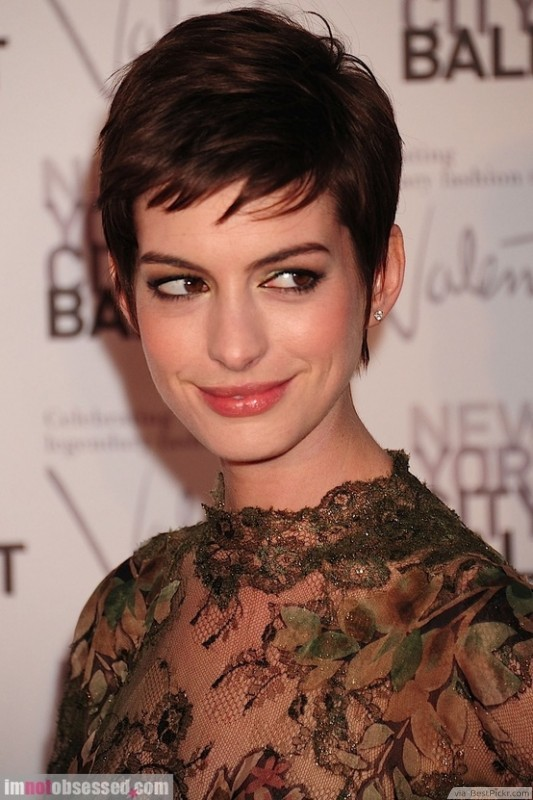 Short Bangs Pixie Dark Hairstyle ❥❥❥ http://bestpickr.com/cute-short- hairstyles