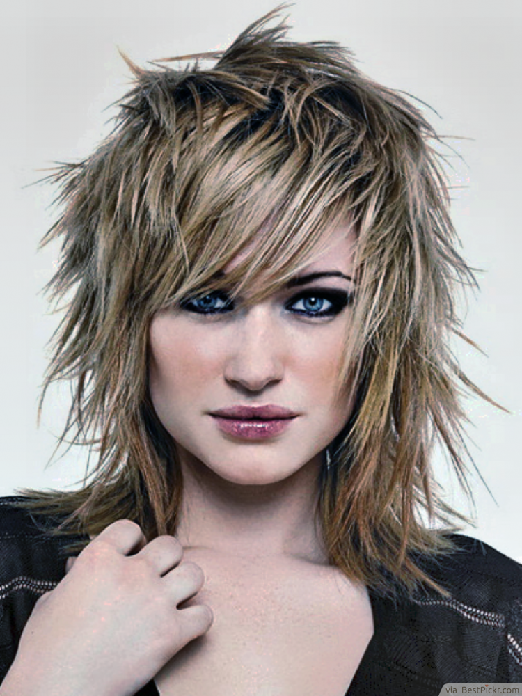 Shaggy & Short Punk Hairstyles For Women ❥❥❥ http://bestpickr.com/punk-hairstyles-for-girls