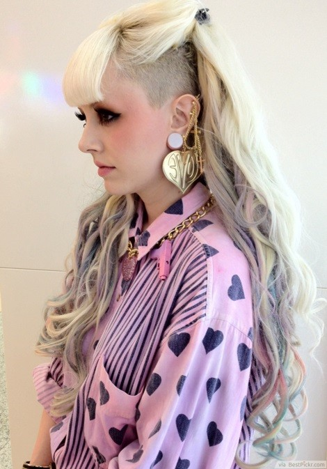 Unique Punk Hairstyles For Girls In BestPickr - Hairstyle girl photos