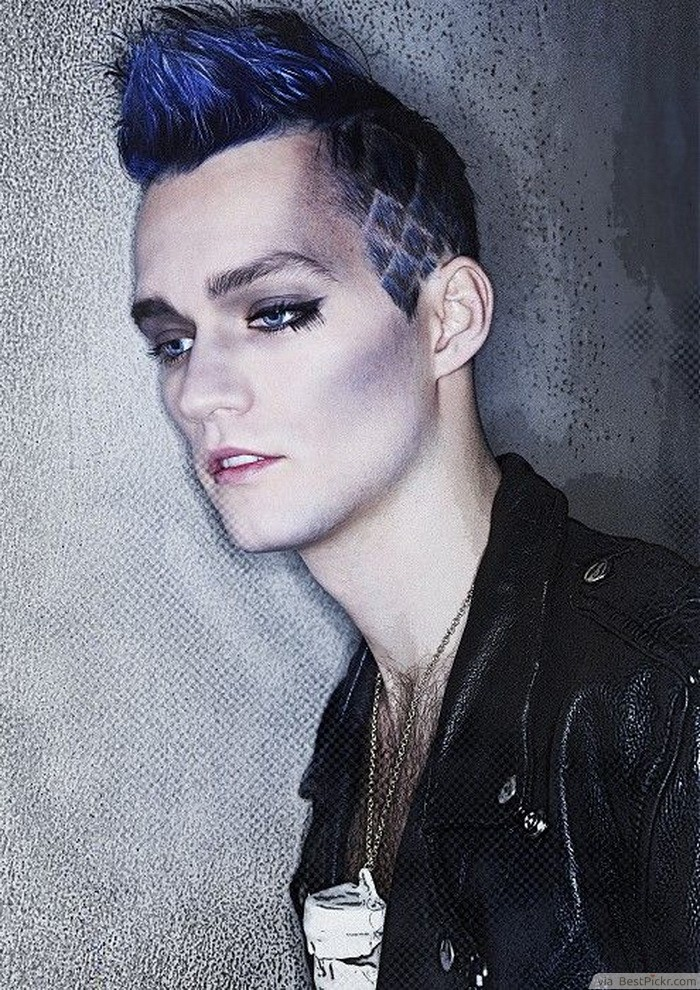 Diamond Pattern Fauxhawk Haircut ❥❥❥ Http://bestpickr.com/punk Hairstyles  For Men