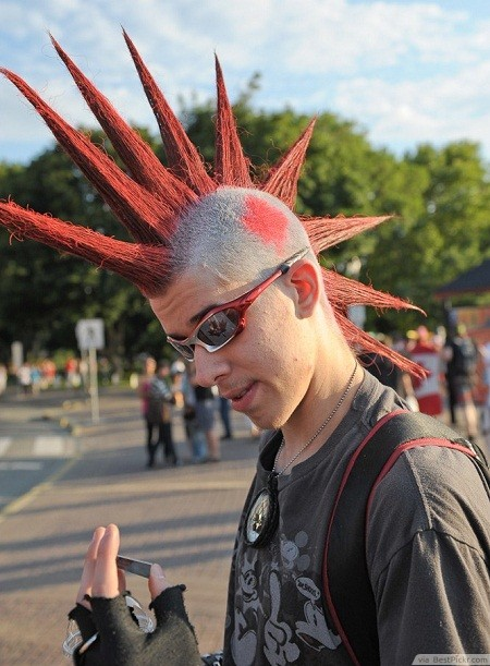 Groovy 10 Badass Punk Hairstyles For Men In 2017 Bestpickr Hairstyle Inspiration Daily Dogsangcom