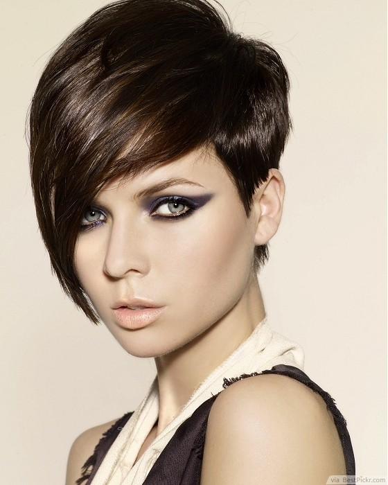 Glamour Scene Pixie Hairstyle ❥❥❥ http://bestpickr.com/short-scene-hairstyles-for-girls