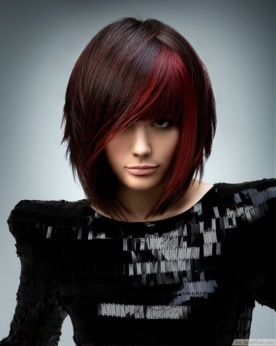 10 best medium emo hairstyles for cool girls in 2017 bestpickr medium brown textured bob emo haircut httpbestpickr urmus Choice Image