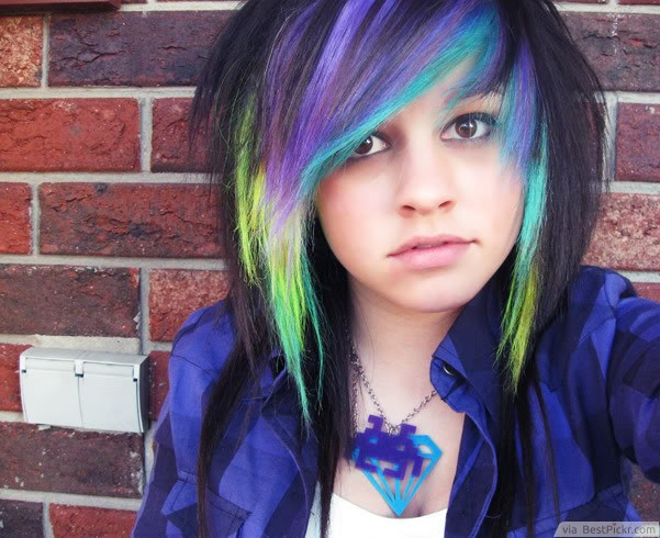 Awesome 10 Best Medium Emo Hairstyles For Cool Girls In 2017 Bestpickr Hairstyles For Women Draintrainus