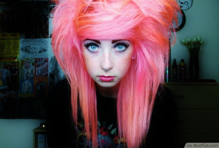 10 Cute Long Emo Hairstyles For Girls In 2018 Bestpickr