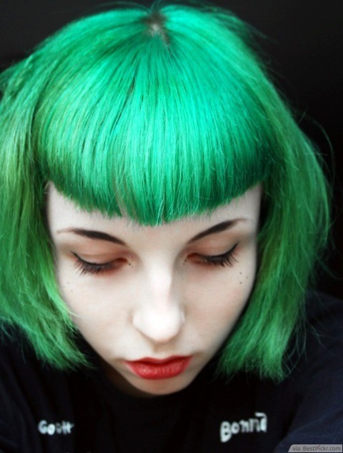 10 best short emo hairstyles for girls in 2017 bestpickr green emo hair httpbestpickrshort urmus Choice Image