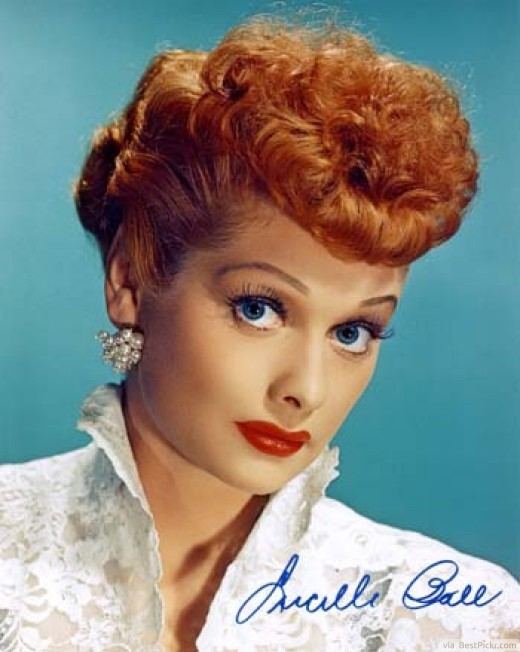 Curly Red 50's Pin Up Hairstyles ❥❥❥ http://bestpickr.com/1950s-hairstyles