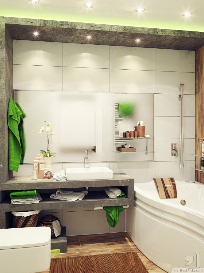 Beautiful Nature Inspired Bathroom Interior ❥❥❥ http://bestpickr.com/small-bathroom-interior-design-ideas