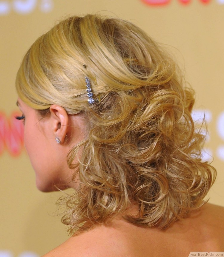prom hairstyles half up half down for medium hair gallery