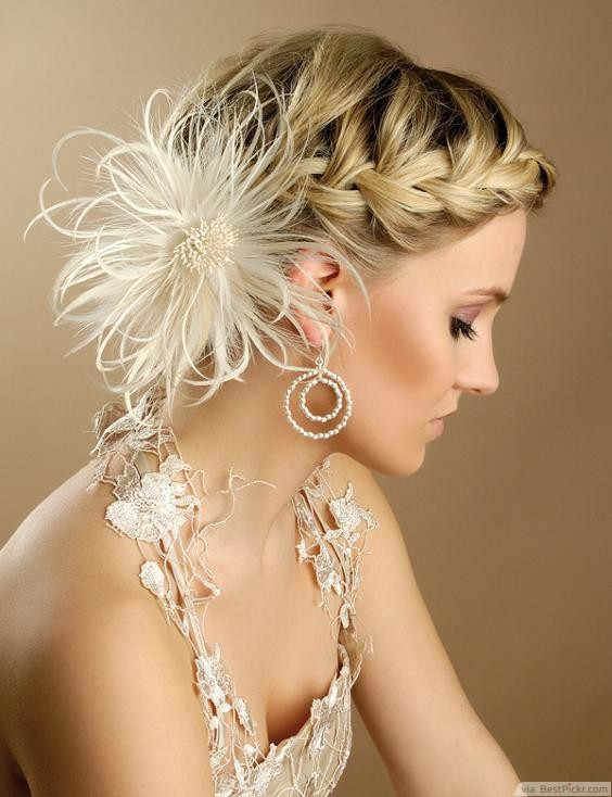 Side Braided Bridal Updo Hairstyles ❥❥❥ http://bestpickr.com/prom-updo-hairstyles