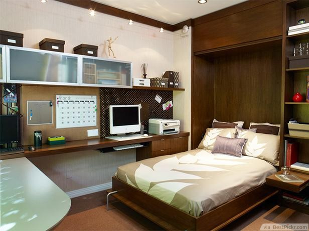 Instant Guest Bedroom With A Murphy Bed ❥❥❥ ://bestpickr.com/small- bedroom-interior-design-ideas & 10 Best Small Bedroom Interior Design Ideas With Creative Use Of ...