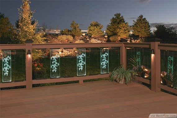 10 great deck lighting ideas for cool outdoor patio design bestpickr decorative glasses with led lights deck patio ideas httpbestpickr aloadofball Gallery