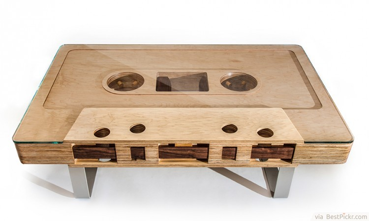 mixtape cool coffee table design httpbestpickrcom - Coffee Table Design Ideas