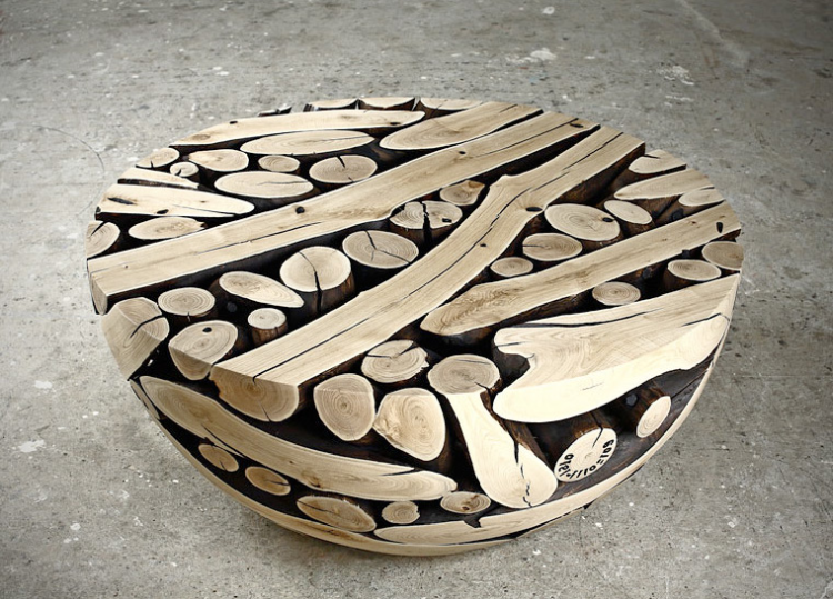 Beautiful Pine Wood Round Coffee Table Idea ❥❥❥ Http://bestpickr.