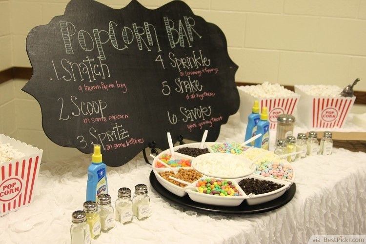 Foodie Sleepover Party Idea ❥❥❥ http://bestpickr.com/slumber-party-ideas