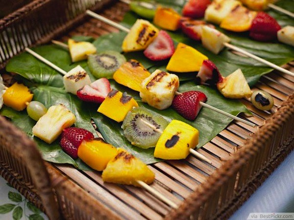 hawaiian luau party ideas food