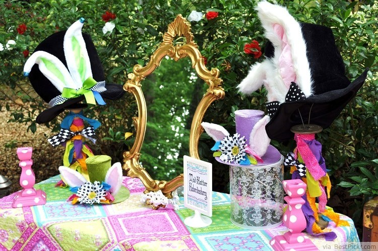 10 Best Mad Hatters Tea Party Ideas Magical Alice In