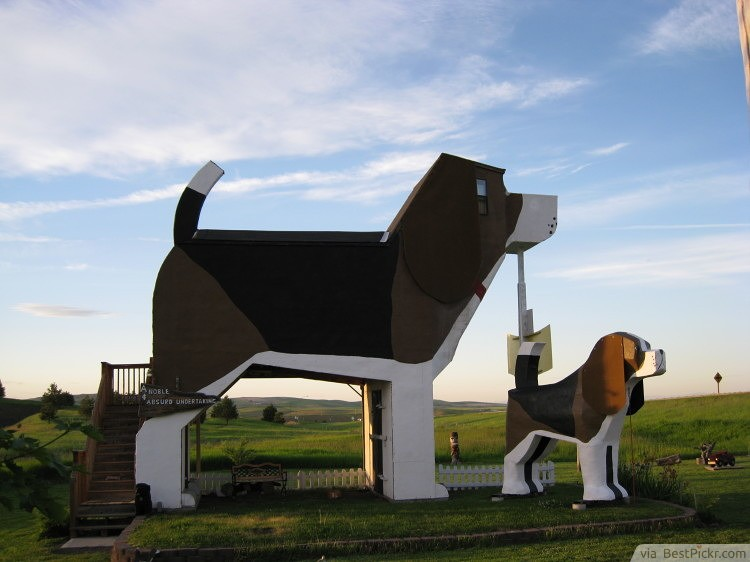The Dog Bark Park Inn, Idaho ❥❥❥ http://bestpickr.com/unusual-hotels
