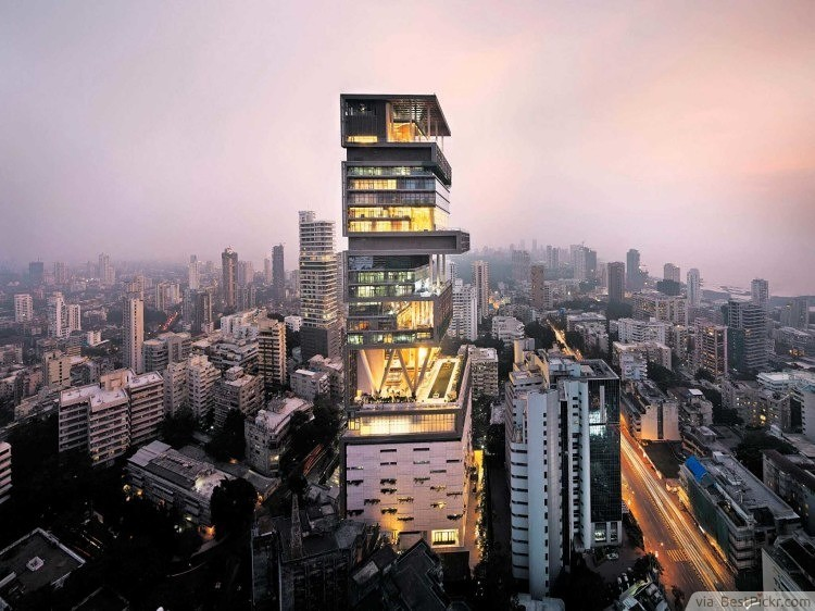 Antilla - Mumbai ❥❥❥ http://bestpickr.com/worlds-most-expensive-houses