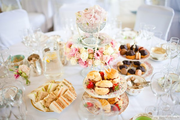 Afternoon Tea Idea Bestpickr Wedding