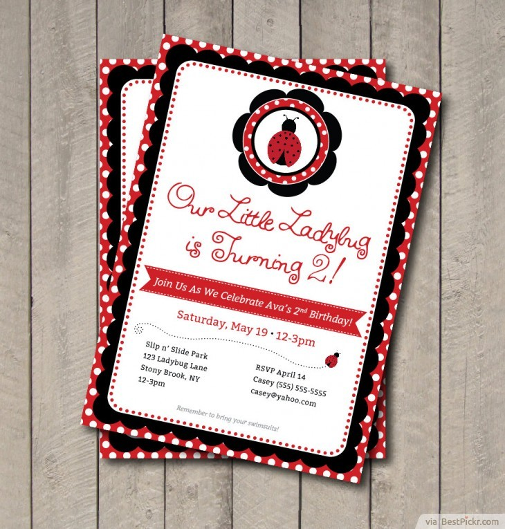 10 unique ladybug baby shower invitations your guests will remember beautiful printable ladybug party invitation httpbestpickr ladybug baby shower invitations solutioingenieria Choice Image