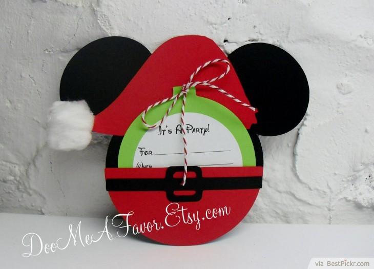 6 Incredible Mickey Mouse Invitations Printable Ideas For Kids – Handmade Mickey Mouse Birthday Invitations