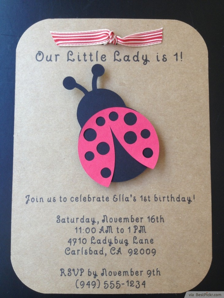 10 unique ladybug baby shower invitations your guests will remember custom made ladybug invitation for kids party httpbestpickr ladybug baby shower invitations solutioingenieria Choice Image