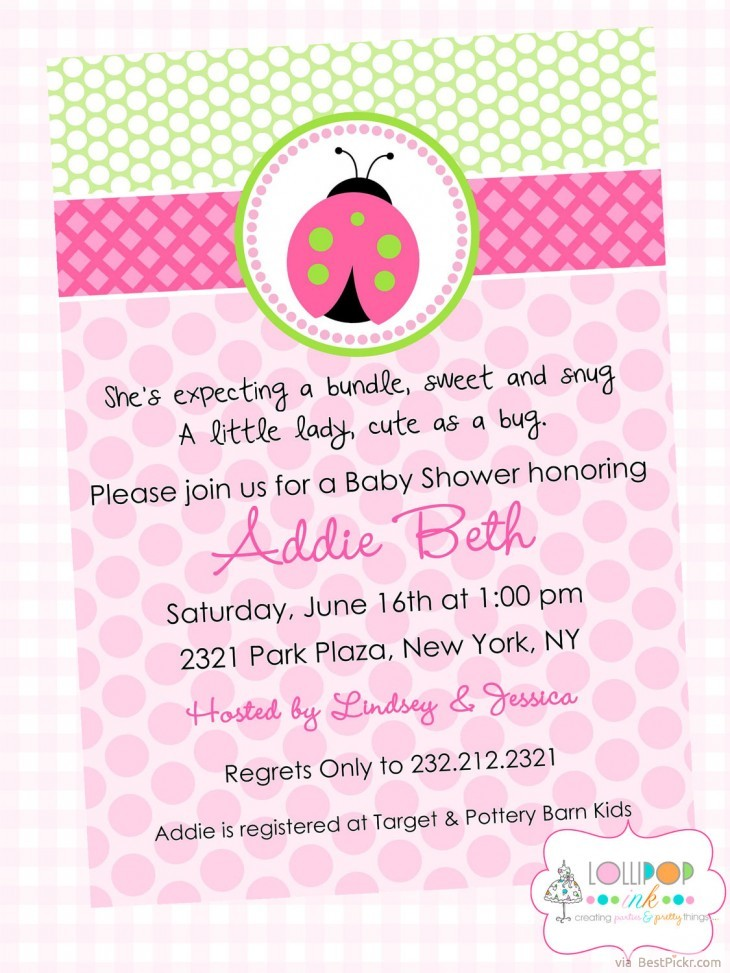 10 Unique Ladybug Baby Shower Invitations Your Guests Will Remember