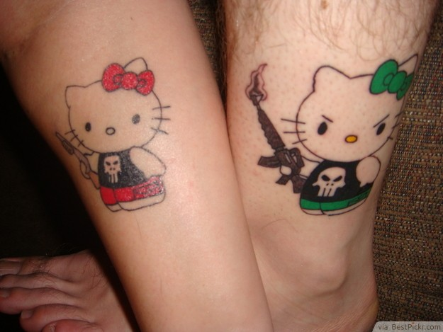 Matching Tattoos For Him And Her Matching tattoos for him