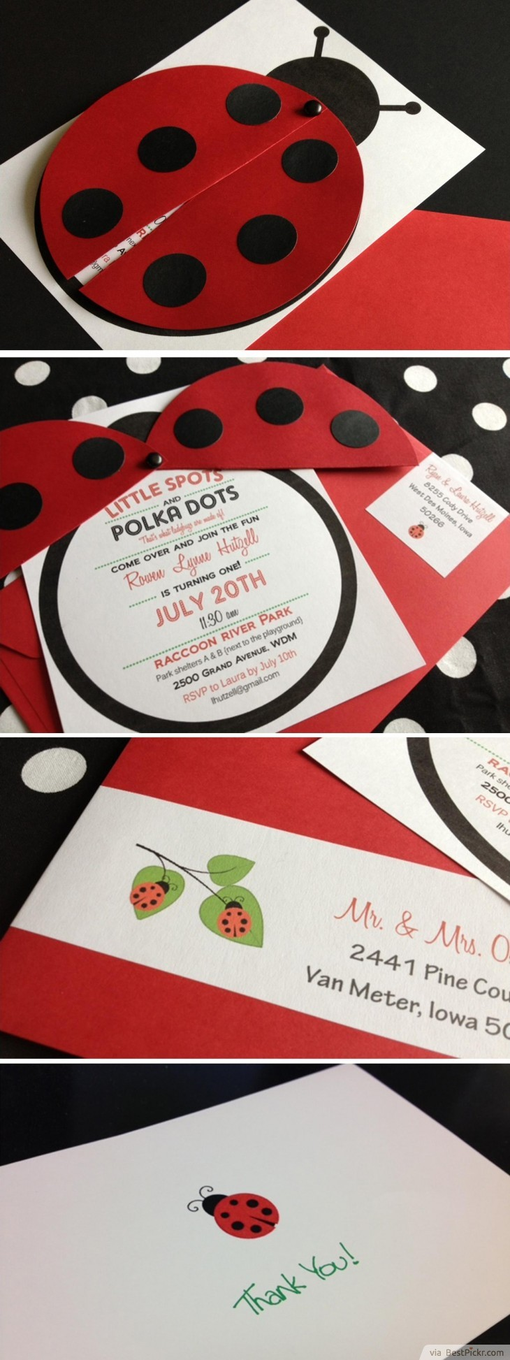 10 Unique Ladybug Baby Shower Invitations Your Guests Will Remember ...