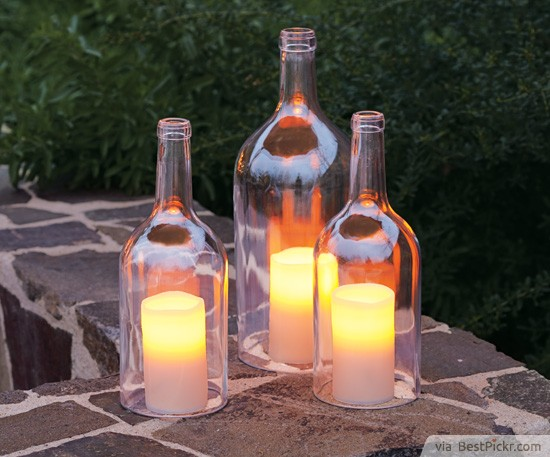 Exceptional Bottled Outdoor Candle Lighting ❥❥❥ Http://bestpickr.com/outdoor Party  Lighting Ideas