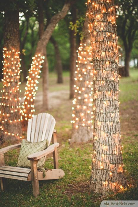 diy outdoor party lighting. Romantic Tree Decoration Lighting ❥❥❥ Http://bestpickr.com/outdoor Diy Outdoor Party