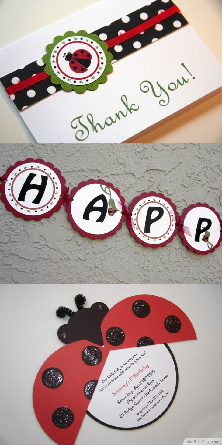 10 unique ladybug baby shower invitations your guests will remember elegant handmade ladybug birthday party invitation httpbestpickr ladybug baby shower invitations solutioingenieria Choice Image
